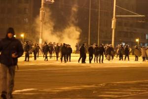 Боевики Анисима вместе с милицией жестоко разогнали запорожский Майдан