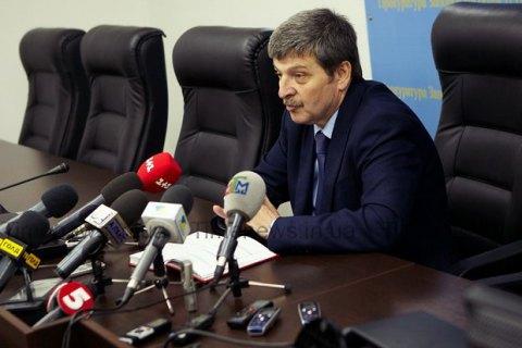 Экс-прокурор Запорожской области Александр Шацкий